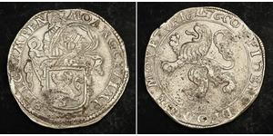 1 Daalder Kingdom of the Netherlands (1815 - ) / Kingdom of Holland (1806 - 1810) Silver