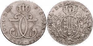 1 Daler / 1 Speciedaler Норвегия Серебро Кристиан VII (король Дании) (1749 - 1808)