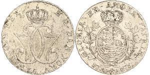 1 Daler / 1 Speciedaler Norway Silver Christian VII of Denmark (1749 - 1808)
