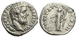 1 Denario Impero romano (27BC-395) Argento Pertinace (126-193)