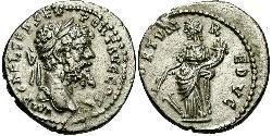1 Denario Impero romano (27BC-395) Argento Settimio Severo (145- 211)