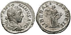 1 Denario Imperio romano (27BC-395) Plata Heliogábalo (203-222)