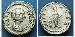 1 Denario Imperio romano (27BC-395) Plata Julia Domna (?-217)
