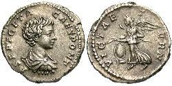1 Denario Imperio romano (27BC-395) Plata Geta (189-211)