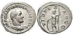 1 Denarius 羅馬帝國 銀 戈爾迪安二世