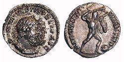 1 Denarius Imperium Galliarum (260-274) Silber Postumus (260-268)