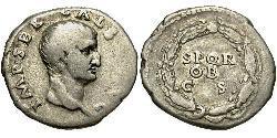 1 Denarius Römische Kaiserzeit (27BC-395) Silber Galba (3BC-69AD)
