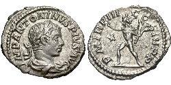 1 Denarius Römische Kaiserzeit (27BC-395) Silber Elagabal (203-222)