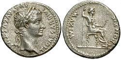1 Denarius Römische Kaiserzeit (27BC-395) Silber Tiberius Claudius Nero (42 BC-37)