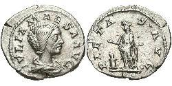 1 Denarius Römische Kaiserzeit (27BC-395) Silber Julia Maesa (165-224)