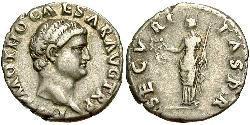 1 Denarius Römische Kaiserzeit (27BC-395) Silber Otho (32-69)