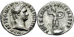 1 Denarius Römische Kaiserzeit (27BC-395) Silber Domitian  (51-96)