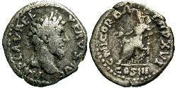 1 Denarius Römische Kaiserzeit (27BC-395) Silber Lucius Verus (130-169)