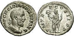 1 Denarius Römische Kaiserzeit (27BC-395) Silber Pupienus Maximus (178-238)