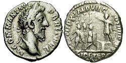 1 Denarius Römische Kaiserzeit (27BC-395) Silber Commodus  (161-192)