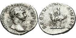 1 Denarius Roman Empire (27BC-395) Silver Trajan (53-117)