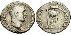 1 Denarius Roman Empire (27BC-395)  Vitellius (15-69)