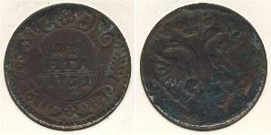 1 Denga Russian Empire (1720-1917) Copper Jelisaweta I Petrowna (1709-1762)