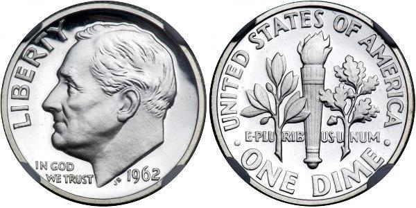 1 Dime / 10 Cent USA (1776 - ) Silver