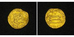 1 Dinar Abbasid Caliphate (750-1258) Gold
