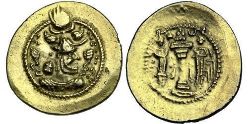 1 Dinar Iran / Sassanidenreich  (224-651) Gold Peroz I. (? - 484)