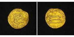 1 Dinar Abbasid Caliphate (750-1258) Or