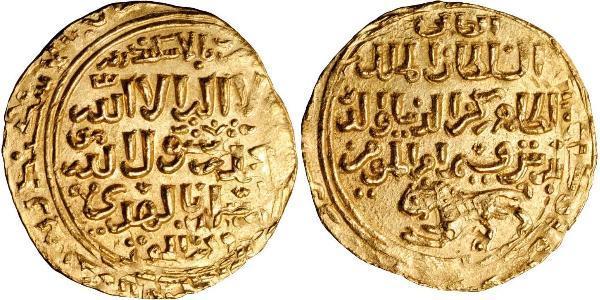 1 Dinar Sultanat mamelouk (1250 - 1517) Or