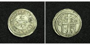 1 Dinar Kroatien Silber Béla IV. (Ungarn) (1206 - 1270)