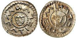 1 Dinar Bohemia Silver Wratislaus II of Bohemia (?-1092)
