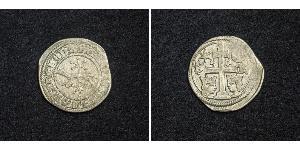 1 Dinar Croatia Silver Béla IV of Hungary (1206 - 1270)