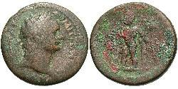 1 Diobol Roman Empire (27BC-395) Bronze Domitian  (51-96)