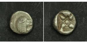 1 Diobol / 2 Obol Ancient Greece (1100BC-330) Silver