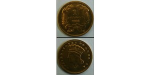1 Dollar 美利堅合眾國 (1776 - ) 金