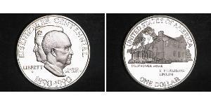 1 Dollar 美利堅合眾國 (1776 - ) 銀 Dwight David Eisenhower (1890-1969)