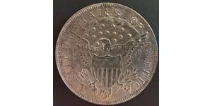1 Dollar 美利堅合眾國 (1776 - ) 銀 Anne Willing Bingham (1764-1801)