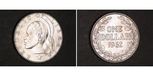 1 Dollar Liberia 銀