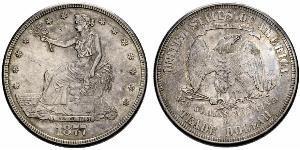 1 Dollar 美利堅合眾國 (1776 - ) 銀/銅