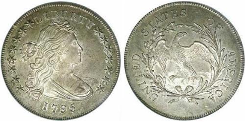 1 Dollar 美利堅合眾國 (1776 - ) 銀/銅 Anne Willing Bingham (1764-1801)