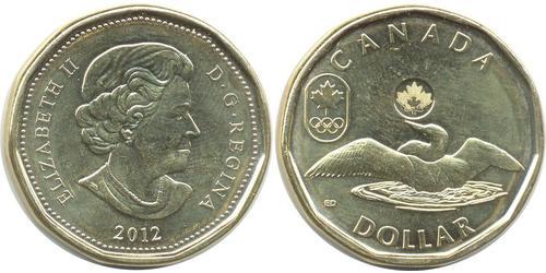 1 Dollar Canada Acier Elizabeth II (1926-)