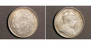 1 Dollar Établissements des détroits (1826 - 1946) Argent Édouard VII (1841-1910)