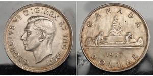 1 Dollar Canada Argent George VI (1895-1952)