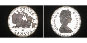 1 Dollar Canada Argent