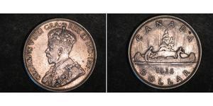 1 Dollar Canada Argent George V (1865-1936)