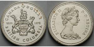 1 Dollar Canada Argent Elizabeth II (1926-)