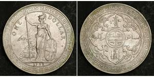 1 Dollar Hong Kong / Empire britannique (1497 - 1949) Argent