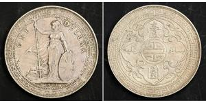 1 Dollar Hong Kong / Empire britannique (1497 - 1949) Argent