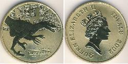 1 Dollar Tuvalu Brass