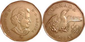 1 Dollar Canada Bronze Elizabeth II (1926-)
