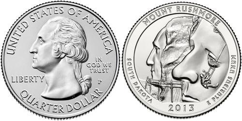 1 Dollar USA (1776 - ) Copper George Washington