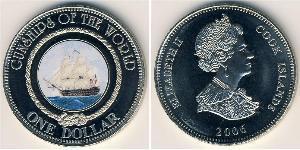 1 Dollar Cook Islands Copper/Nickel